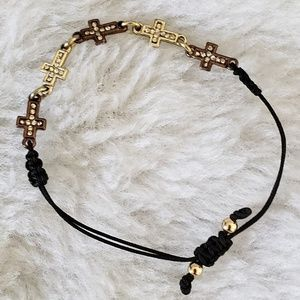 Other - NWOT - Girl's Cross Bracelet